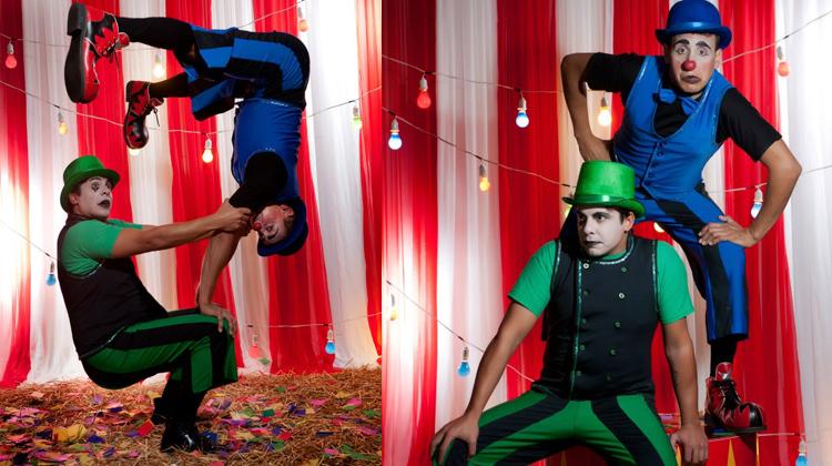 contratar circo gira la brujula