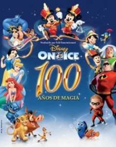 """Contratar Disney on Ice """"100 Años de Magia"""""""