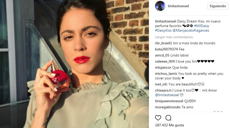 publicidad en instagram con famosos