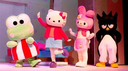 Contratacion de Hello Kitty: Un dia de suerte