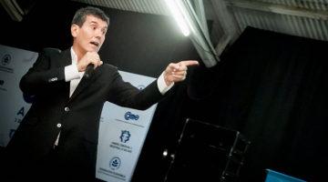 Miguel Ángel Cherutti en el aniversario de la Cámara Comercial e Industrial