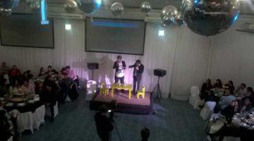 Pablo y Pachu en el 40° Aniversario de Crediquen, Neuquén