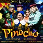 Dario Lopilato presenta El Maravilloso Mundo de Pinocho