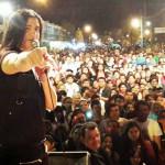 Ariel Puchetta y la Otra Dimensión en el cierre de campaña de Miguel Sotelo, Chaco