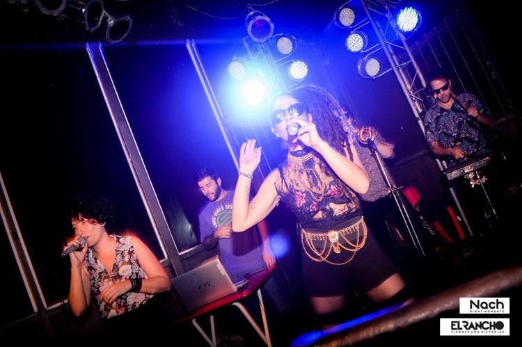 Show de Miss Bolivia en Disco El Rancho, Córdoba