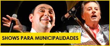 Contratar Shows para Municipalidades