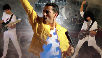 Queendom, banda tributo a Queen