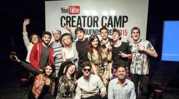 Fernando Sanjiao y Mabby Autino en #YouTubeCreatorCamp