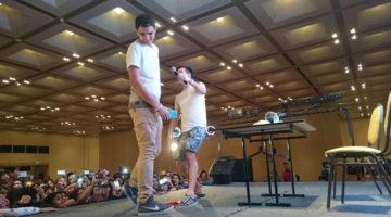 Gonza Fonseca, Mica Suarez y Dos Bros en la Friki Fest, Salta