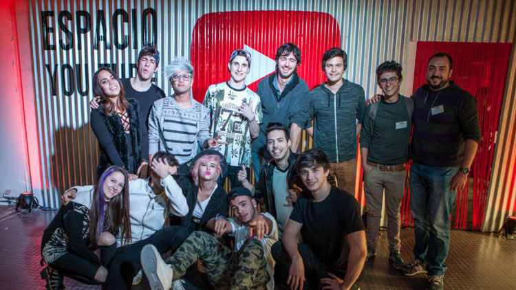 Contratar Youtubers