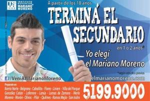Publicidad del Instituto Superior Mariano Moreno x Cristian U