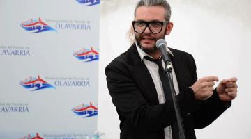 Gastón Soffritti y Mauricio Jortack en Cultura Viva, Olavarría
