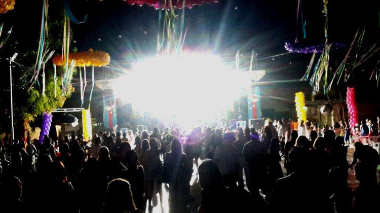 Show de Cumbia Cool en el Carnaval de Asunsión del Paraguay