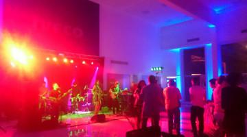 Cumbia Cool en la fiesta de Iveco, Aurelia Vial