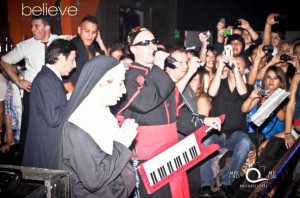 Los Puntos Cardenales y Los Rebos en Believe Disco de Moreno [Mayo 2013]