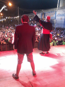 Los Rebos y Los Puntos Cardenales en los Carnavales de la Alegría 2014
