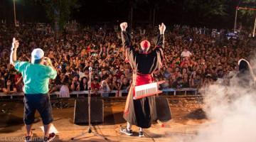Los Rebos y Mariano Martínez en los Carnavales de Río 2014