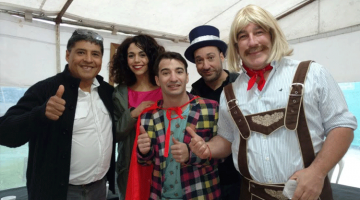 Día del niño en Moreno: Nazareno, Pachu y Rebo Mago