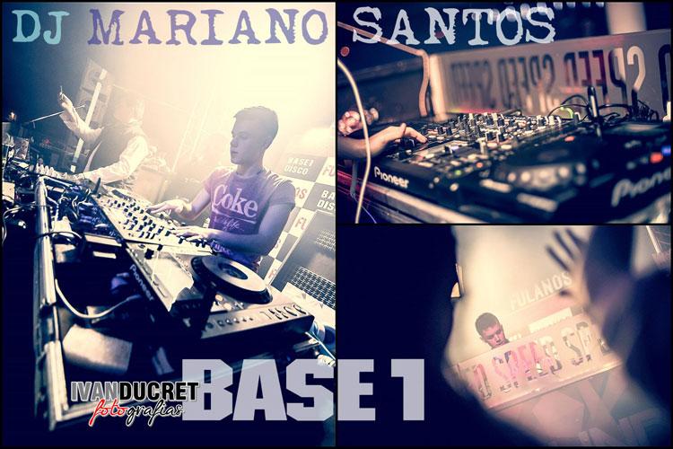 DJ Mariano Santos en Base Uno (Venado Tuerto)