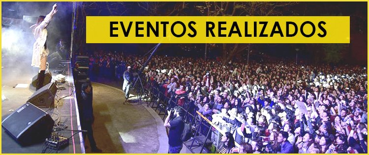 Eventos y Shows realizados