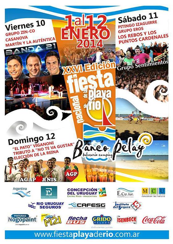 Fiesta de la Playa de Río 2014