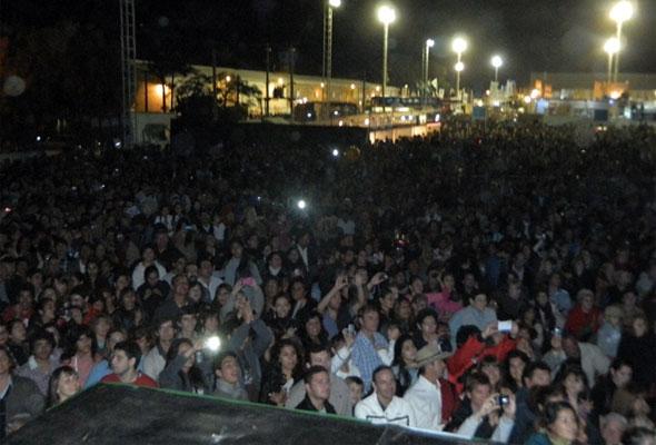 Los Nocheros en la Fiesta Nacional del Algodon [Junio 2013]