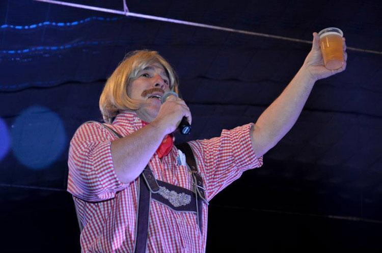 Gaucho Alemán en el 99 Aniversario de Adolfo González Chaves