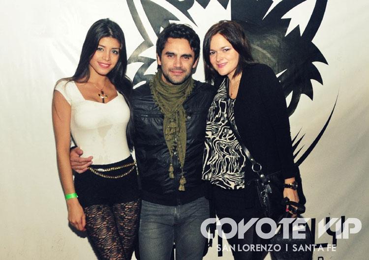 Gonzalo Heredia en Coyote VIP, Santa Fe