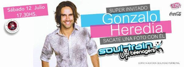 Gonzalo Heredia en Soul Train Matineé