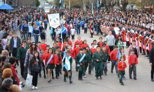 Festejos patrios en la municipalidad de Presidente Perón