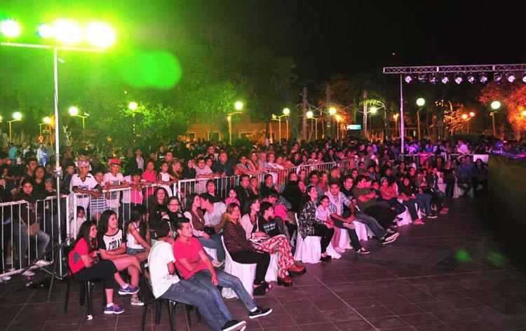 Hernán Drago en los festejos del 103 Aniversario de la Ciudad de La Banda