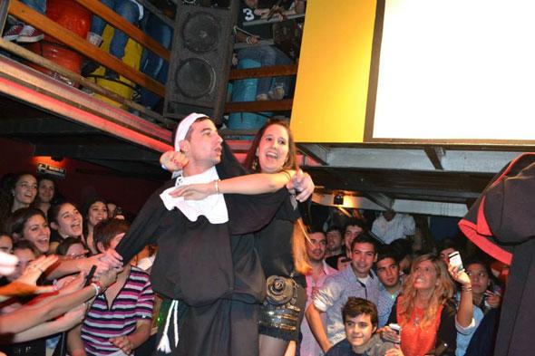 Los Puntos Cardenales y el Gaucho Aleman en La Obra Disco [Mayo 2013]