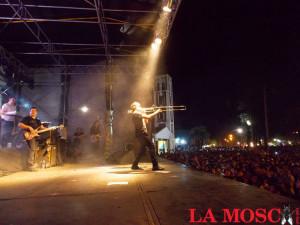 La Mosca en el 78 aniversario de Tres Isletas, Chaco