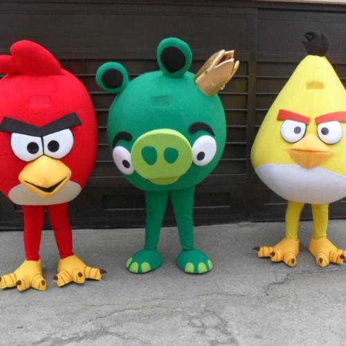 los angry birds contratar infantiles