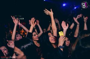 Los Bonnitos, show en Go Disco
