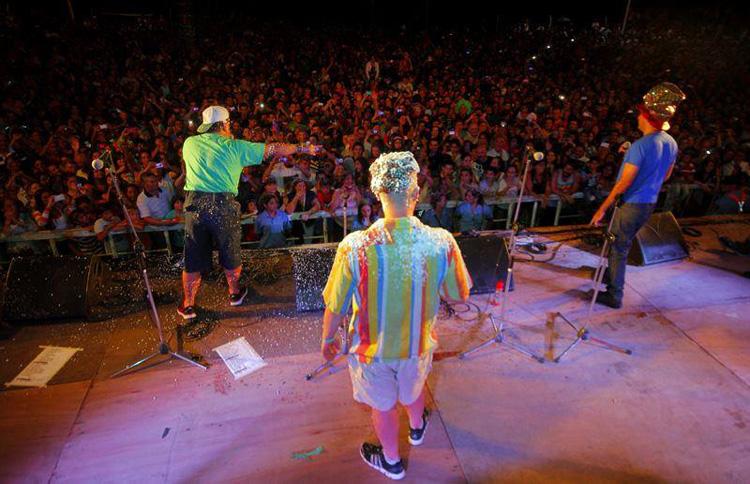 Los Rebos en Carnavales de Río 2014 Santa Rosa de Calamuchita