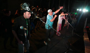 Los Rebos y Los Puntos Cardenales en Club Zone, San Miguel