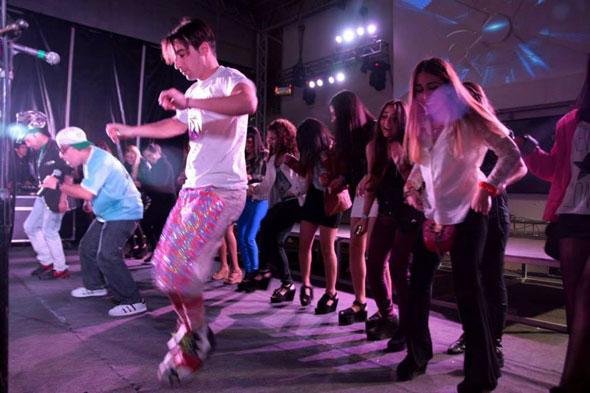 Los Rebos y el Baile del Cuadrado en Club Zone [Junio 2013]
