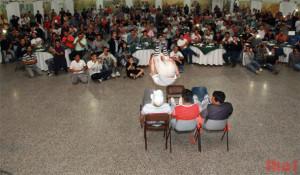 Los Rebos en el festejo del Dia del Papelero en Zarate