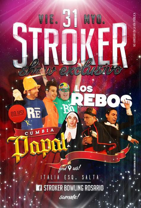 Los Rebos y los Puntos Cardenales en Stroker Bowling [Mayo 2013]