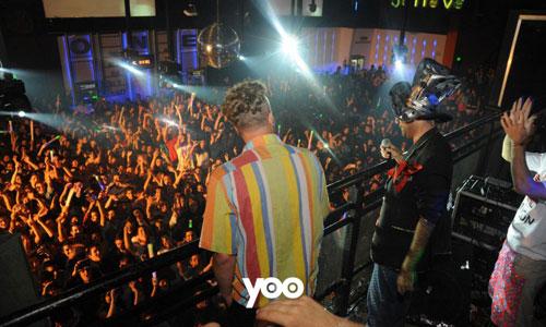 Cumbia Papal y los Rebos en Disco Yoo [Abril 2013]