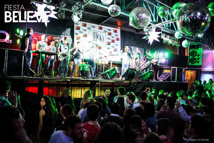 Los Totora en Ozono Megadisco de Chivilcoy