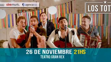 Los Totora en el Teatro Gran Rex