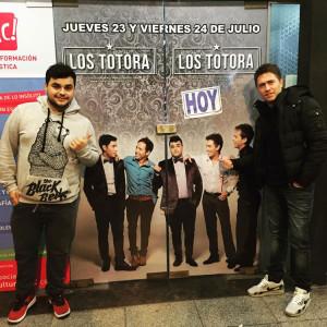Los Totora en el Teatro Carreras de Mar del Plata