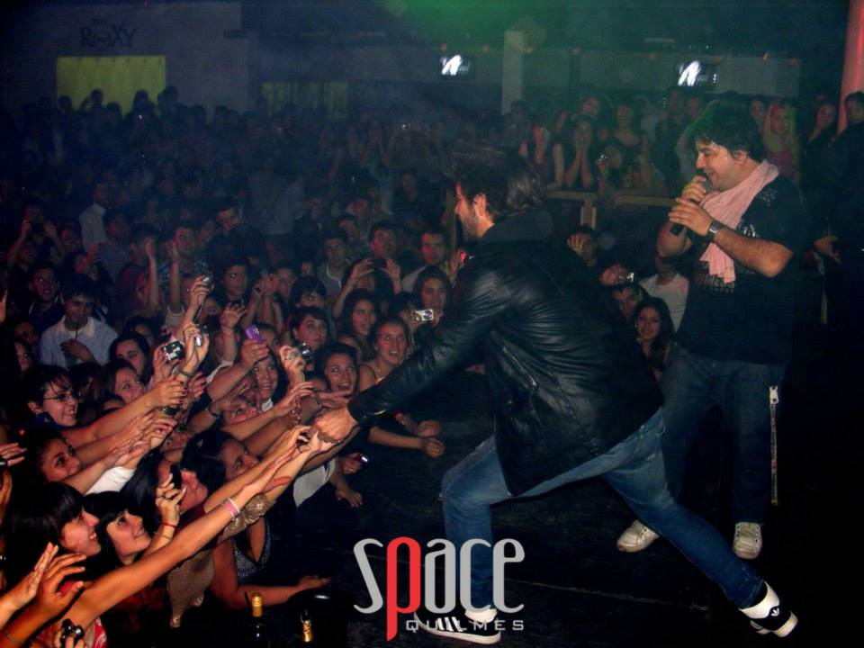 marco antonio caponi en club space quilmes