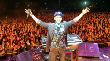 DJ Mariano Santos en Tomate la primavera sin alcohol, San Salvador de Jujuy