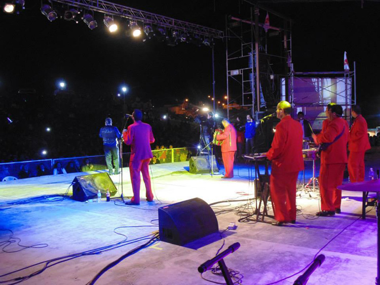 Mario Luis en el Festival del Marinero