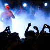 Mario Pereyra en la Choripaneada Gigante del Carnaval Auriazul