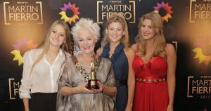 Claudia Lapacó - Premios Martín Fierro 2015