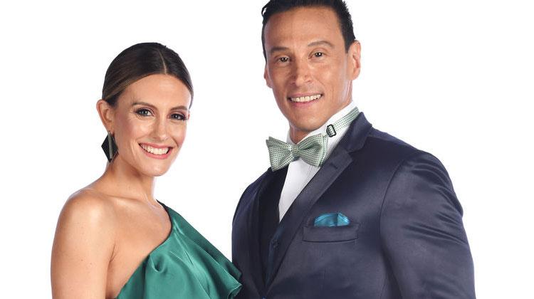 Melina Lezcano y Joel Ledesma - Bailando por un sueño 2017